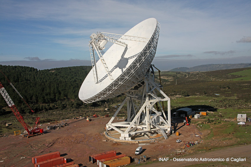 The Sardinia Radio Telescope