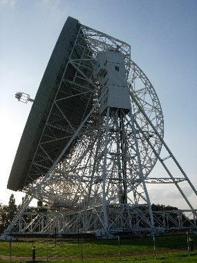 The 76.2-m Lovell Telescope at Jodrell Bank Observatory